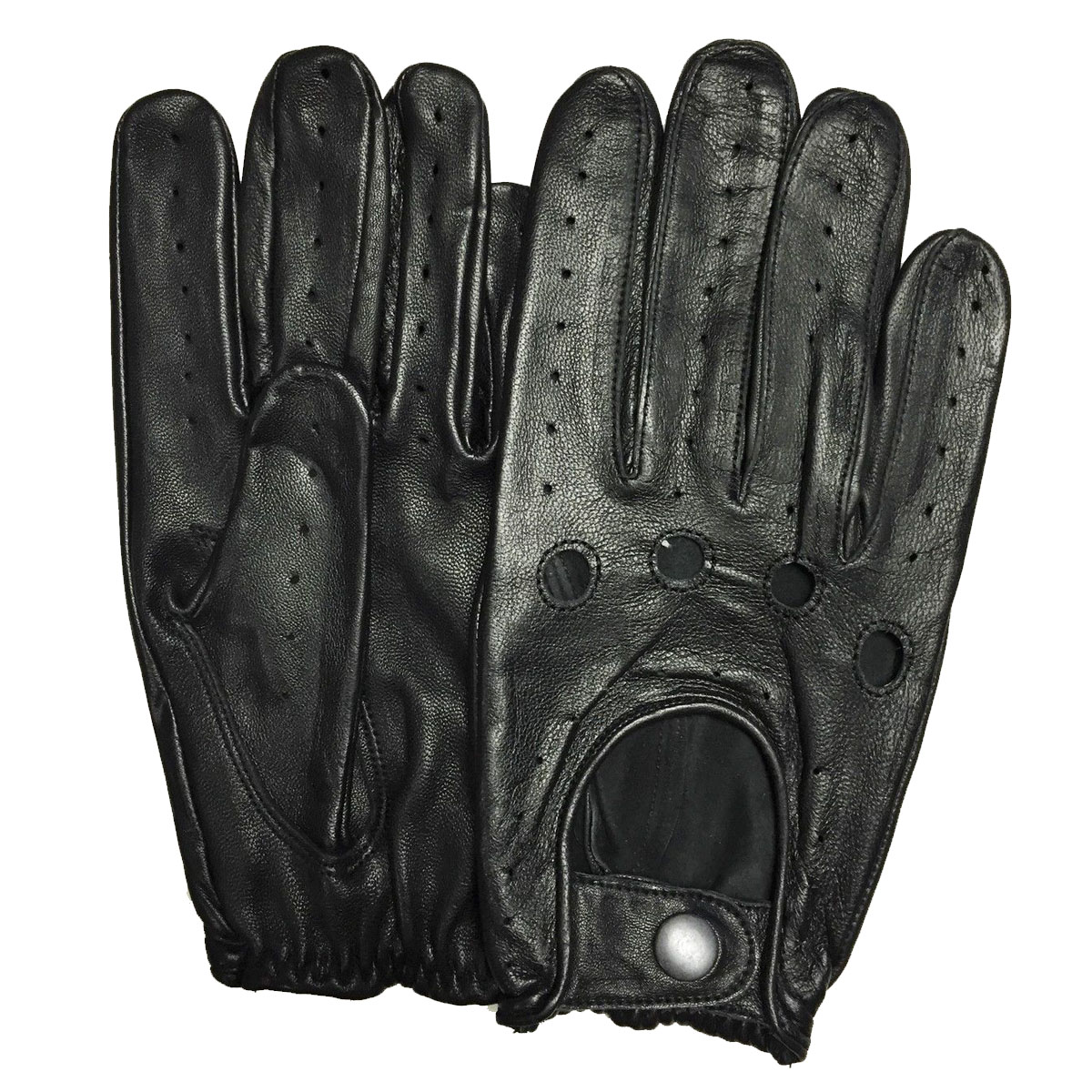 Dam Leather Weight Lifting Gym Gloves Real Leather Women S: RETRO UNISEX GENUINE LEATHER DRIVING GLOVES CHAUFFEUR