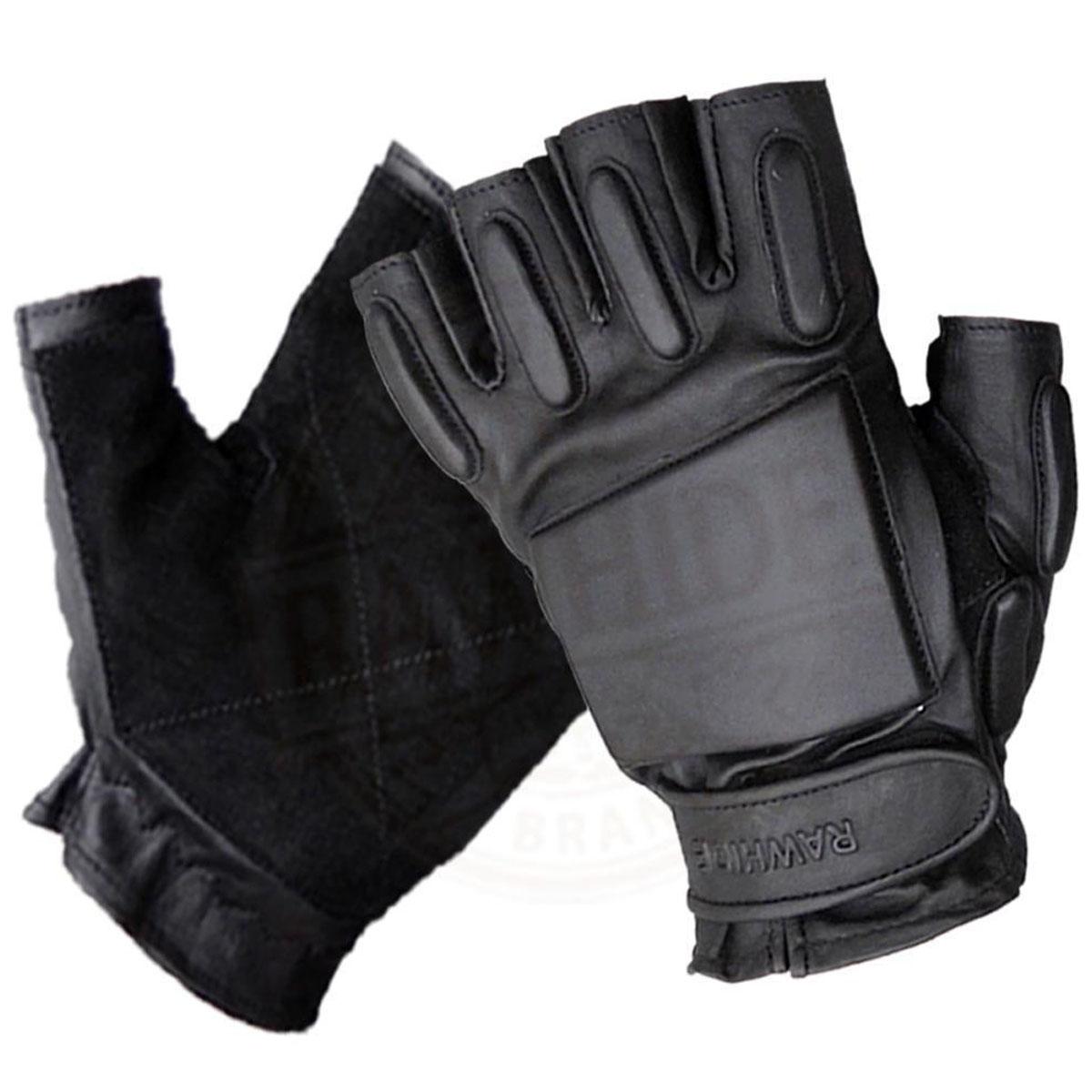 Fingerless driving gloves ebay - Availability In Stock Leather Fingerless Padded Gloves