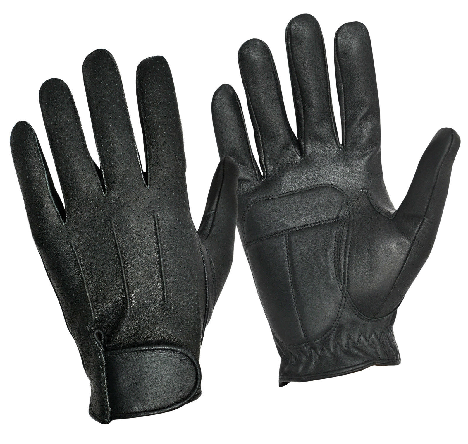 Dam Leather Weight Lifting Gym Gloves Real Leather Women S: Mens Women Driving Fashion Gloves Retro Real Leather Top